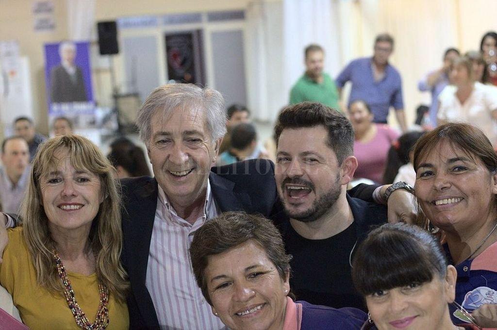 Senador Gramajo y senador electo Castelló. El primero votó la ley de Presupuesto 2020, el segundo quería que esa norma fuera elaborada por el próximo gobierno. <strong>Foto:</strong> Captura de Internet