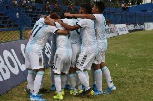 Argentina juega ante Colombia una de las semifinales del Sudamericano Sub 15 en Paraguay