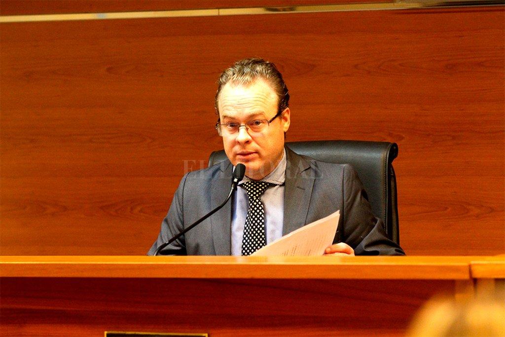 El juez Nicolás Falkenberg dispuso la preventiva el martes. Crédito: Mauricio Garín.