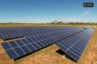 El primer Parque Fotovoltaico de Santa Fe ya produce energía -