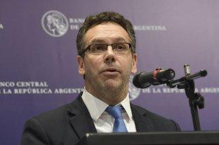 Sandleris dejará la presidencia del Banco Central a partir del 10 de diciembre -  -