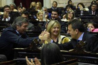 Juraron los nuevos diputados y designaron oficialmente a Massa como presidente de la Cámara