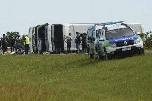 Excarcelaron al chofer del colectivo que volcó en la Ruta 2