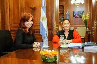 Gabriela Michetti y Cristina Kirchner acordaron respetar el protocolo para la jura presidencial -  -