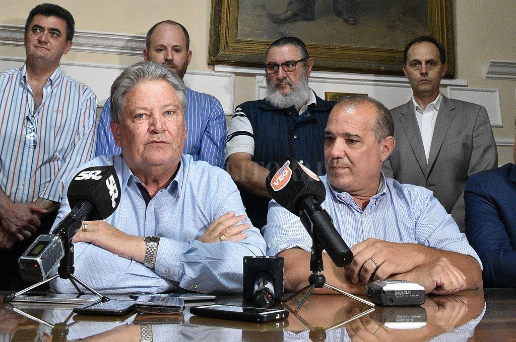 Todos los sectores políticos de la UCR participaron de la previa y del plenario provincial. <strong>Foto:</strong> Luis Cetraro