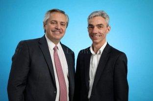 Mario Meoni será el ministro de Transporte de la Nación - Alberto Fernández junto a Mario Meoni. -
