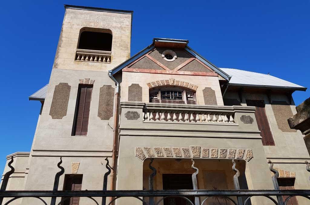 La Casa de Francisco Zurbriggen, donde mejor se puede apreciar la simbologia masón Crédito: Gonzalo Zentner
