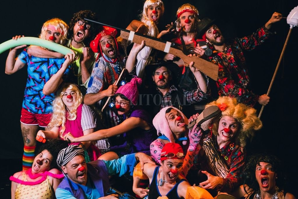Los talleres de clown que brinda Francisco Dalmasso se dan cita en la Sala Marechal del Teatro Municipal para presentar sus espectáculos. <strong>Foto:</strong> Gentileza Franco Airaldi