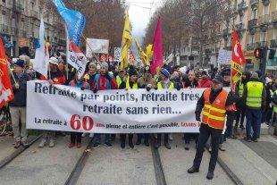 Francia afronta una huelga por la reforma de las pensiones