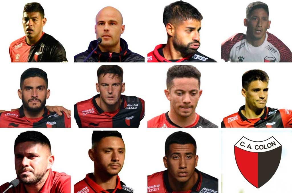 """Los lesionados y borrados de Colón  """"arman"""" un equipo entero  - El 11 de los lesionados y borrados que podría armar Colón. Sólo resta un jugador en la posición de arquero. -"""