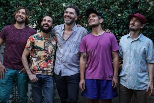 Una pandilla copada - Iñaki Chemes, Lisandro Francucci, Lemy Quintana, Andrés Olivo y Esteban Galíndez. -