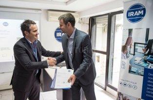 Empresas santafesinas de transporte de pasajeros recibieron certificación IRAM