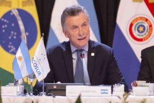 """Macri ratificó la """"apuesta"""" por el Mercosur y pidió a Fernández """"oficializar"""" a Áñez en Bolivia"""