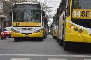 """UTA Santa Fe anunció """"estado de alerta"""" en el servicio de colectivo urbano"""