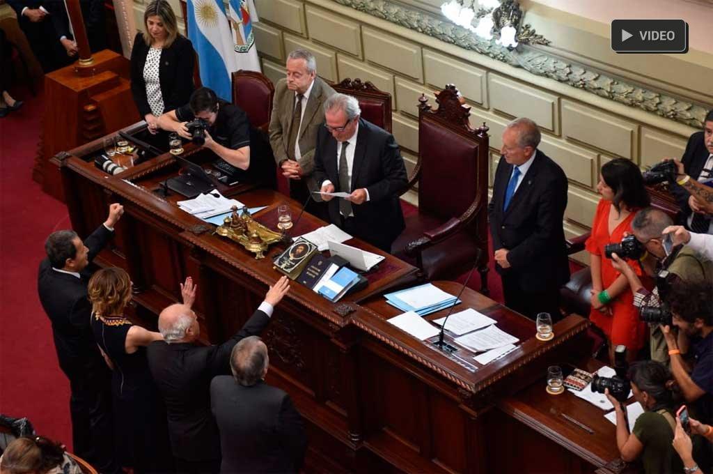 Lifschitz fue elegido presidente de la Cámara de Diputados -  -