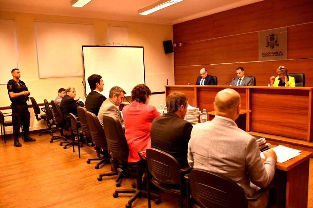 El tribunal pasó a un cuarto intermedio para deliberar y este viernes dará a conocer la sentencia. Crédito: Flavio Raina.