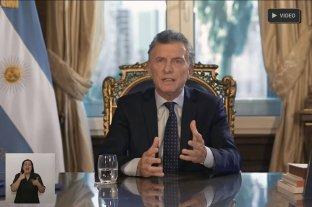"""Macri: """"No tengo ninguna intención de poner trabas a propuestas sensatas y transparentes"""" -"""