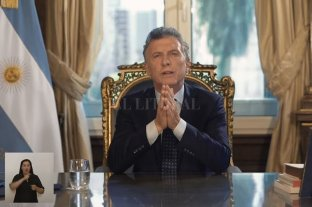Las principales frases del discurso de Mauricio Macri por cadena nacional