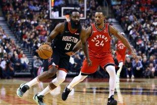 NBA: Houston venció al campeón Toronto