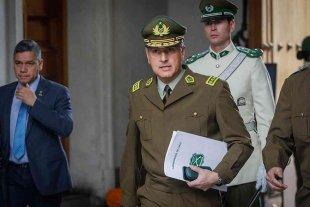 El jefe de Carabineros de Chile denunció que recibió amenazas por Whatsapp