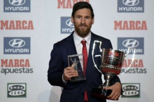 Messi elegido mejor jugador del mes de La Liga de España en noviembre
