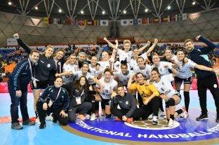 Argentina venció a Congo y jugará por su mejor puesto histórico en el Mundial Femenino de Handball