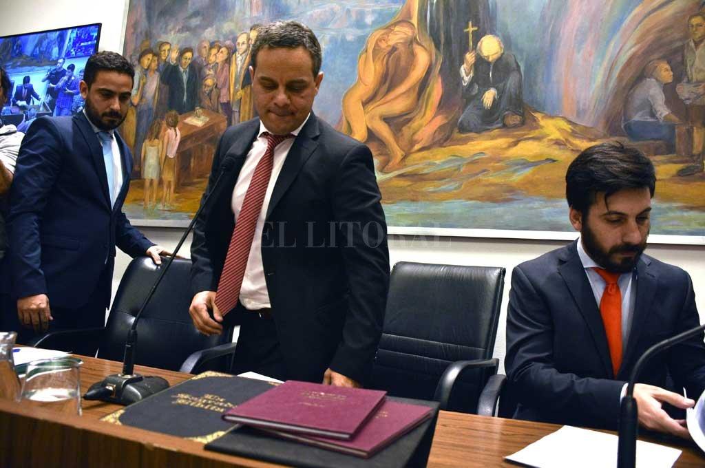 Leandro González juró como presidente del Concejo de Santa Fe -  -