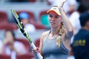 La danesa Wozniacki anunció su retiro del tenis a los 29 años
