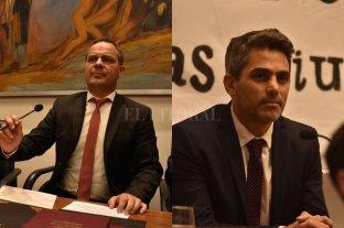 La palabra de dos protagonistas de una sesión en la cual pasó de todo - Leandro González (FPCyS), nuevo presidente del Legislativo. Juan J. Saleme (PJ), nuevo concejal de la ciudad. -