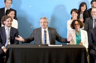 Alberto Fernández oficializó su gabinete -
