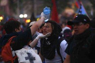 Ascienden a 352 el número de manifestantes con heridas oculares en Chile