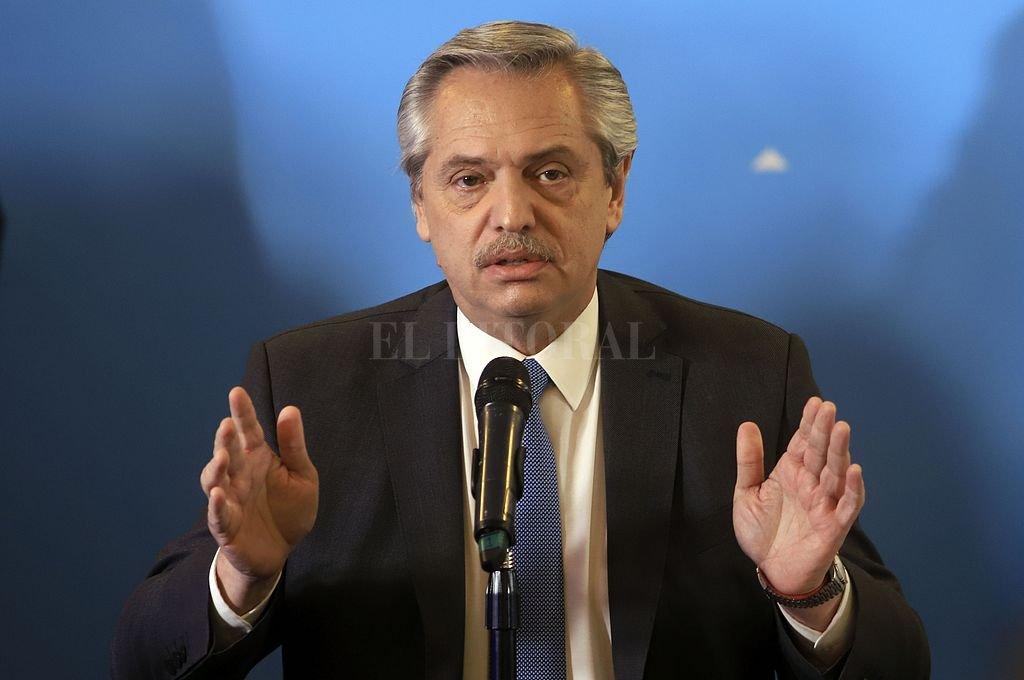 Fernández tras el encuentro con Macri: