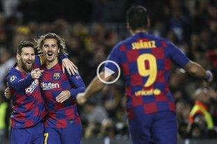 En la tarde de los golazos, Messi hizo tres en la victoria del Barcelona -  -