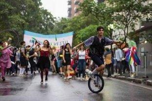 Se desarrolló la Marcha del Orgullo LGBTI