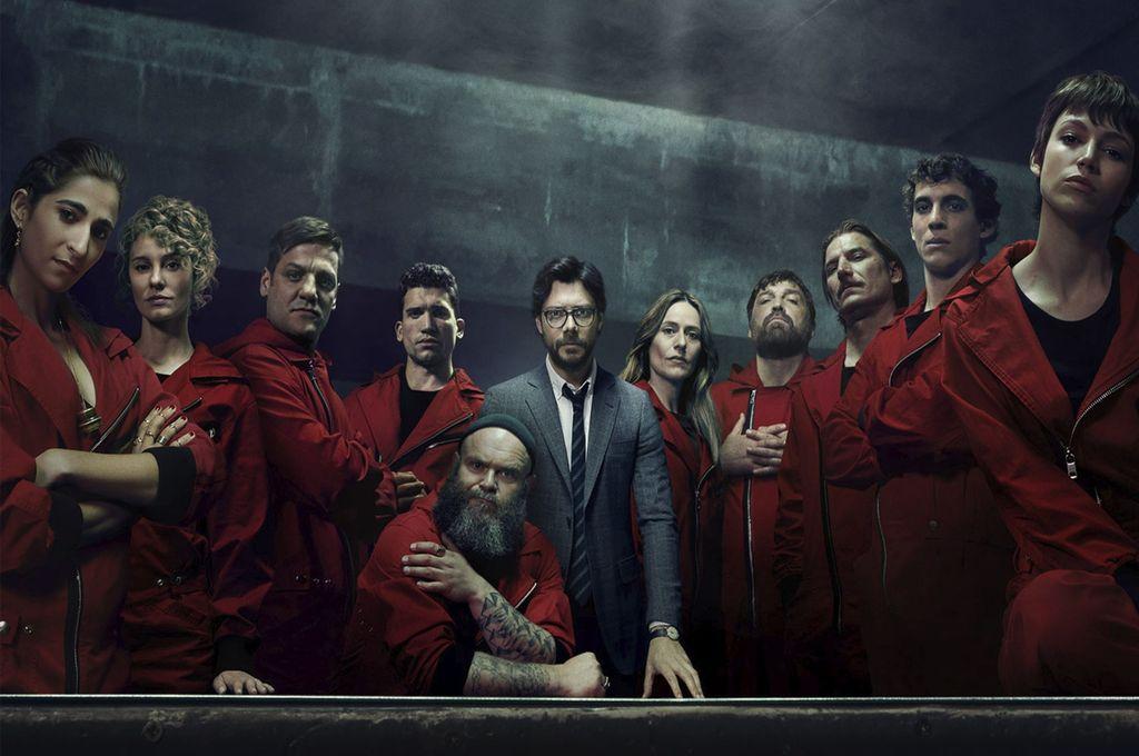 Netflix anunció la fecha de estreno de La casa de papel 4