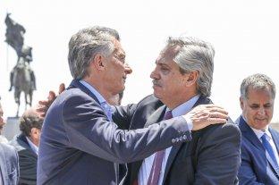Dirigentes elogiaron el abrazo de Macri y Alberto Fernández en la misa de Luján -  -