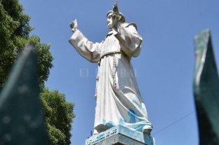 Restauraron el monumento de San Francisco que fue vandalizado
