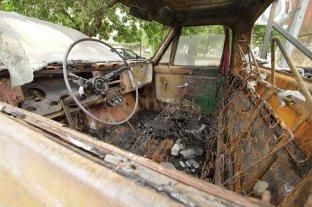 Quemaron una camioneta en el norte de Santa Fe - Imagen ilustrativa