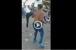 Video: Brutal pelea en la Facultad de Trabajo Social de La Plata -