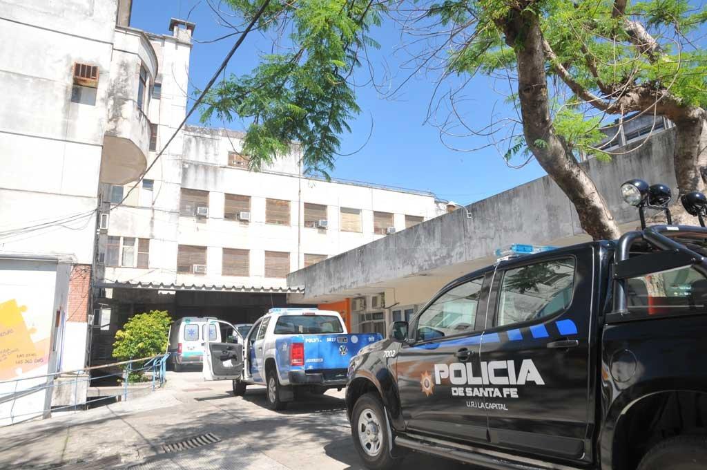 La víctima fue llevada de urgencia al viejo hospital Iturraspe, pero falleció. <strong>Foto:</strong> Archivo El Litoral