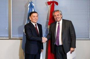 Alberto Fernández recibió al enviado especial de Xi Jinping y se comprometió a visitar China