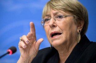 Bachelet renovó sus denuncias sobre Venezuela ante la ONU