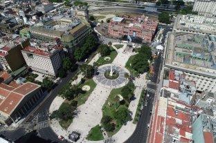 La Plaza de Mayo se prepara para otro día histórico: asume Alberto Fernández