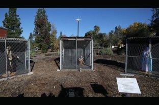 """California: un pesebre """"enjaulado"""", en homenaje a los refugiados del mundo"""