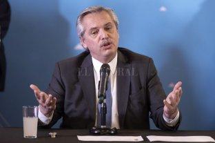 """Alberto Fernández advirtió que """"el riesgo de default es muy alto"""" -  -"""