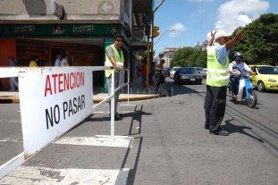 Habrá varios cortes de tránsito por la asunción de Perotti - Imagen ilustrativa. -