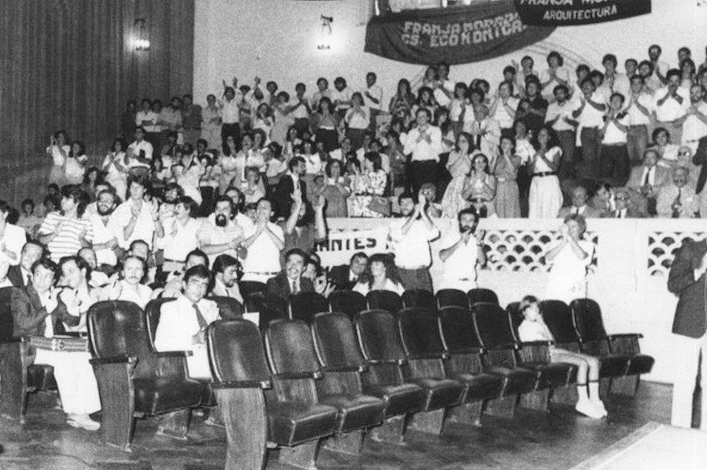 Vista de la Honorable Asamblea Universitaria. <strong>Foto:</strong> Gentileza.