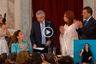 Alberto Fernández juró como Presidente de la República Argentina -