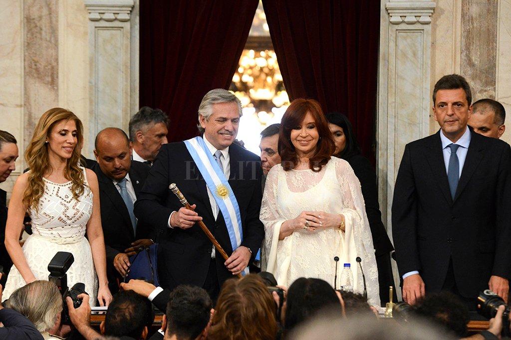 """""""Vengo a convocar a la unidad de toda la Argentina en pos de un nuevo contrato social"""" -  -"""