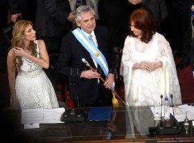 Las frases destacadas de Alberto Fernández durante su discurso de toma de mando -